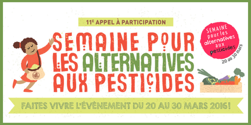 Comment remplacer les pesticides : une semaine pours'informer