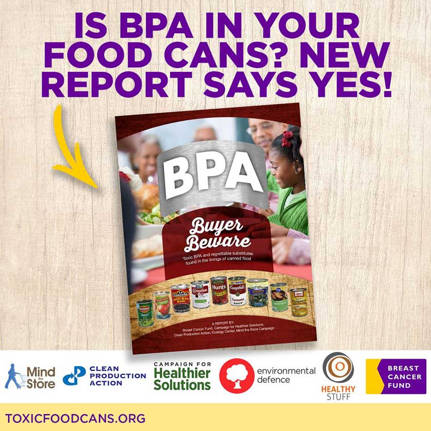 Two thirds of food cans from dozens of brands test positive for the toxic chemical BPA