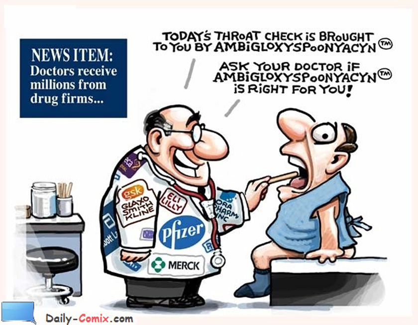 Doctors and Pharma Ties…