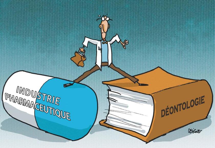 Médecins, Laboratoires, et les Conflitsd'Intérêts