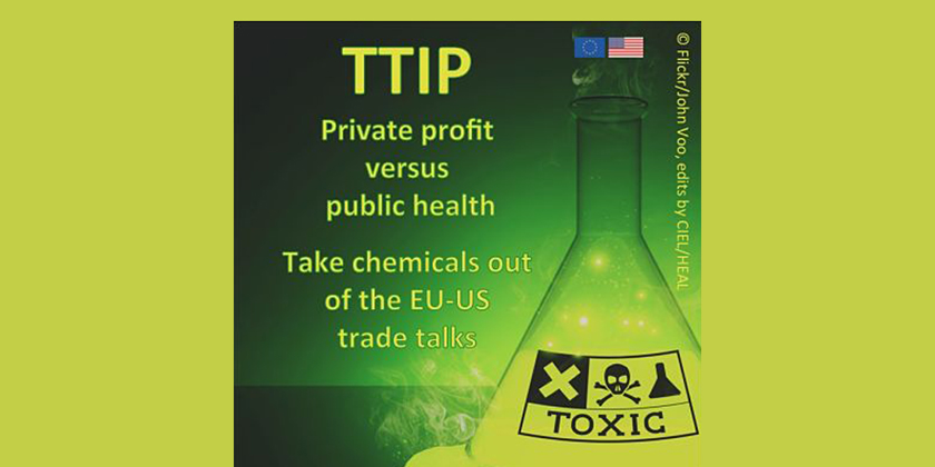 Transatlantic Trade and Investment Partnership: Private Profit v. Public Health