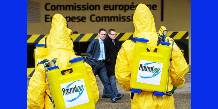 Les eurodéputés contaminés auglyphosate