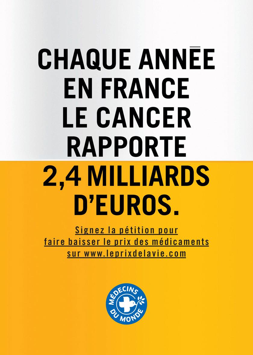 Le cancer rapporte des milliardsd'euros