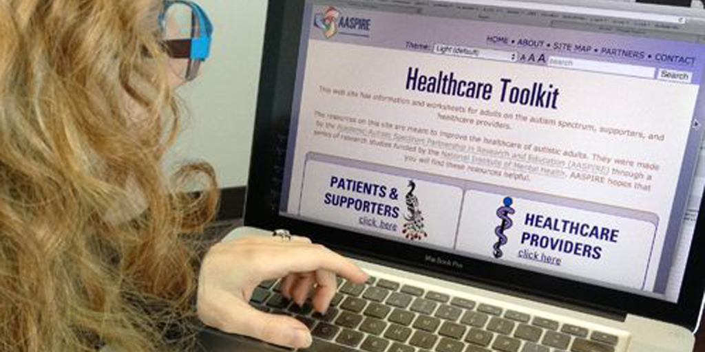 Development and Evaluation of an Online Healthcare Toolkit for AutisticAdults