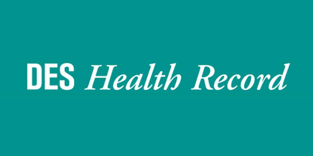 DES Health Information Record for Men andWomen
