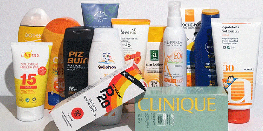 How to choose a sunscreen without problematicchemicals