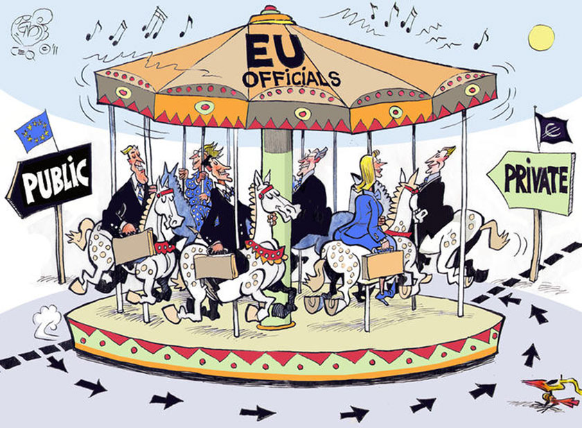 The revolving doors between EU Commission and big business