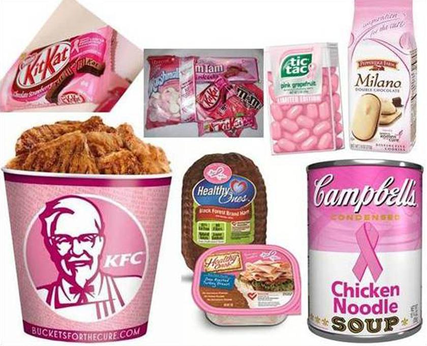 image of pinkwashing-breast-cancer