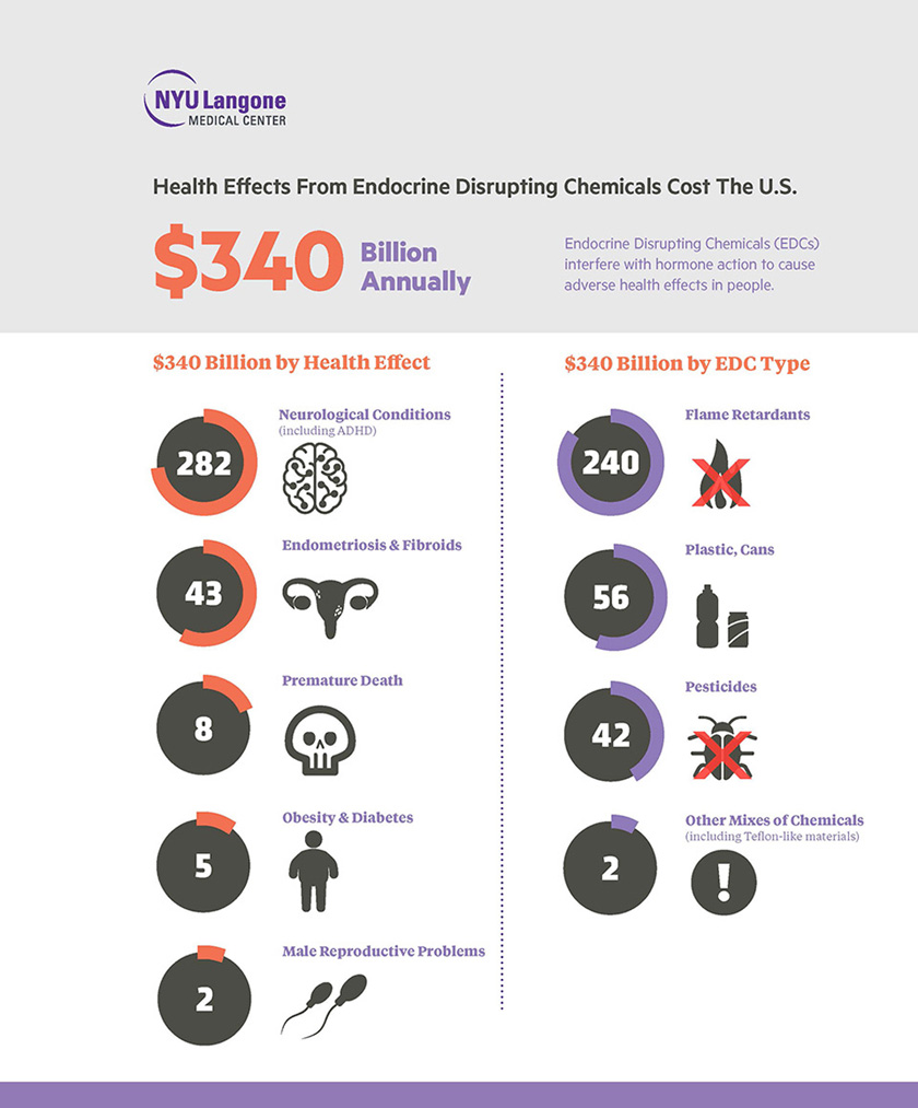 Health Effects from Endocrine Disrupting Chemicals Cost TheU.S.