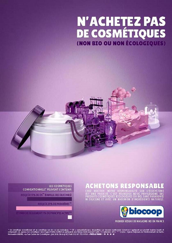 Soins du corps : n'achetez pas de cosmétiques (non bio ou nonécologiques)