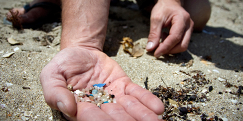 Floating Microplastics in the Central and Western Mediterranean Sea