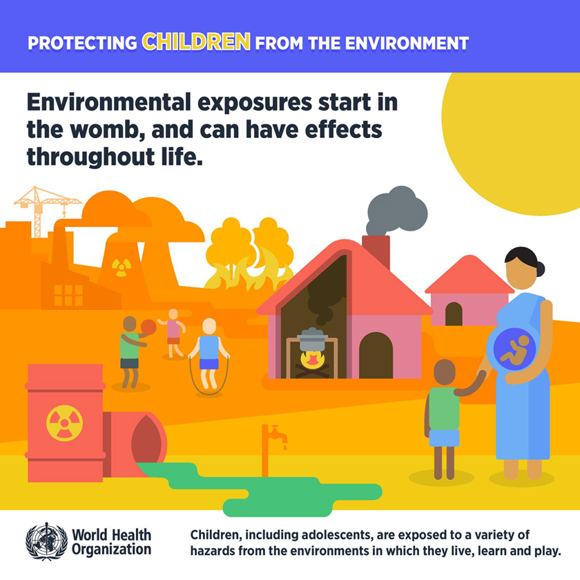 Environmental exposures start in the womb
