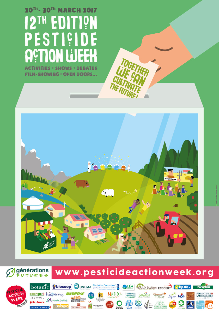 Pesticide Action Week 2017 Poster
