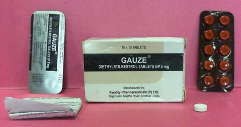 Gauze Diethylstilbestrol Tablets BP 5mg