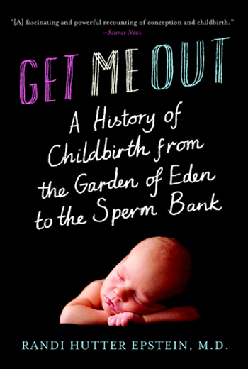 image of get me out book cover
