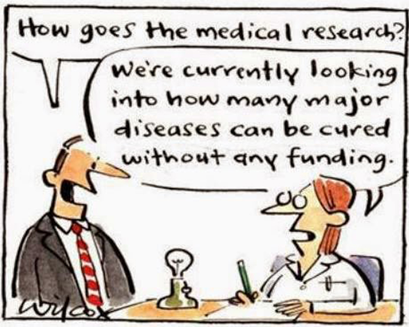 How Goes the Medical Research ?