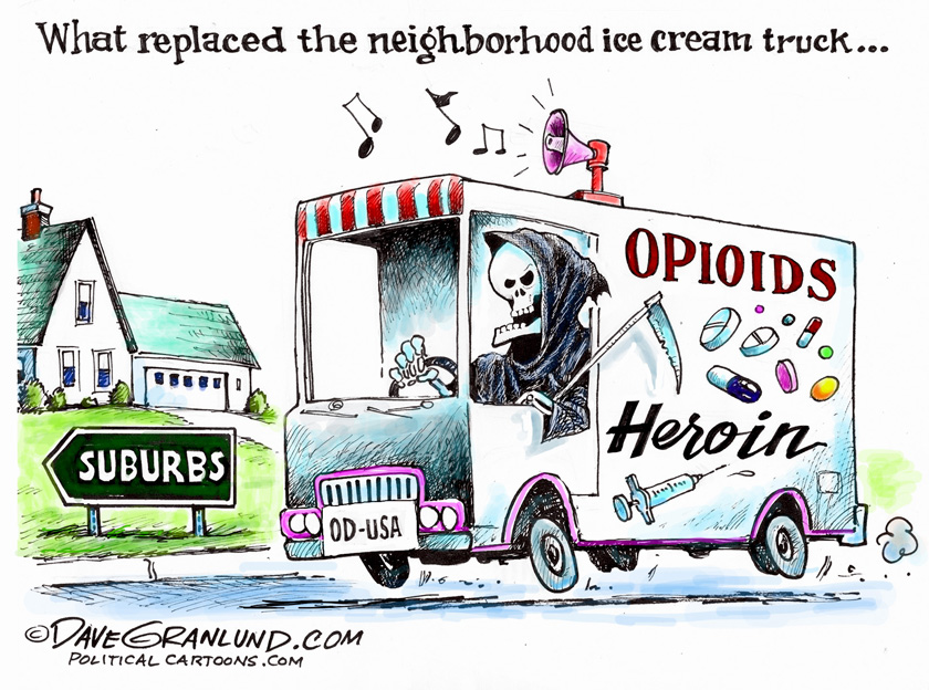 Opioid (and heroin) epidemic in theU.S.