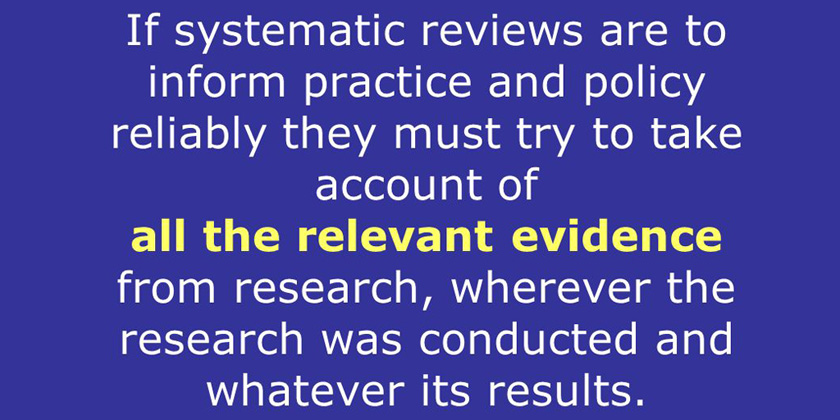 Medical research often ignores relevant existing evidence and patientneeds
