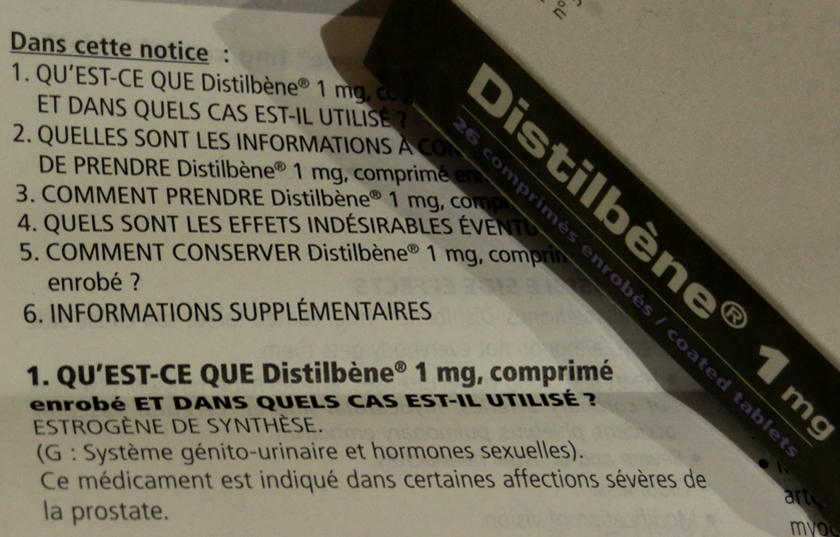 Distilbène® 1mg