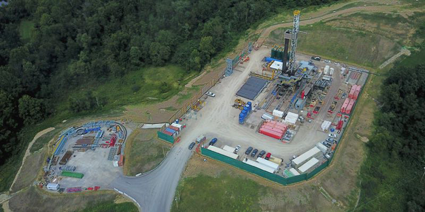 image of Fracking station