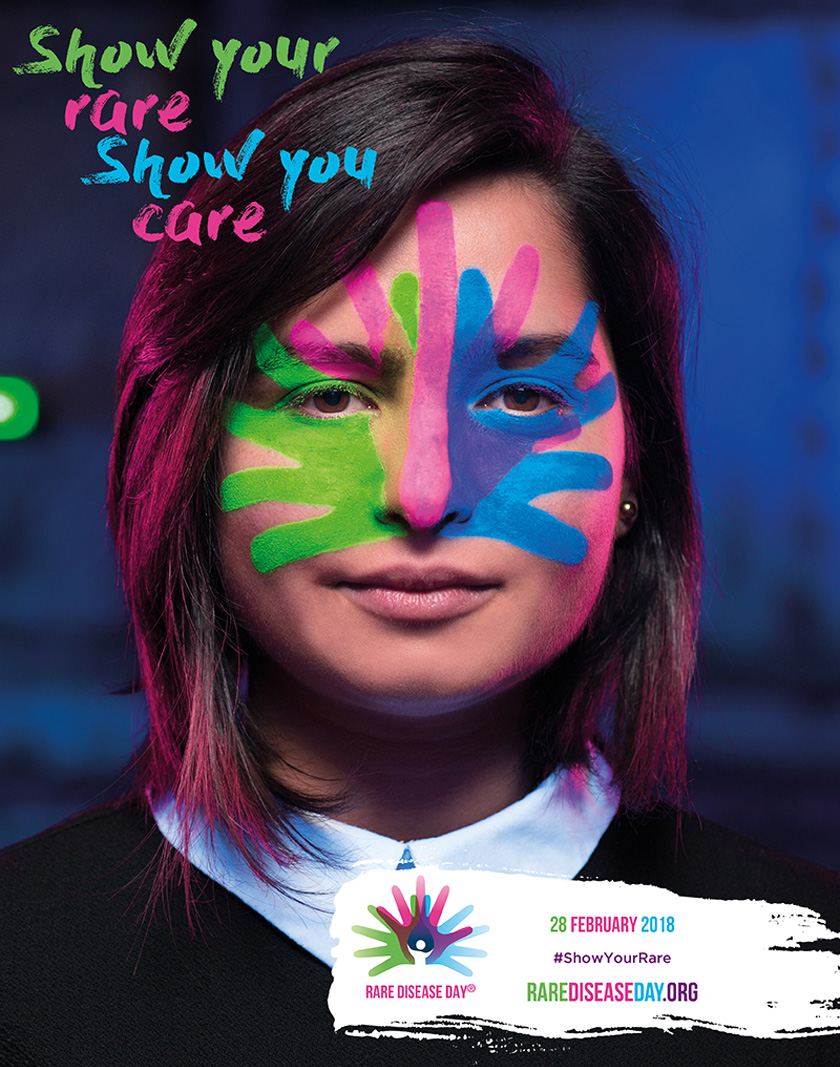 image of Rare Disease Day 2018 Poster