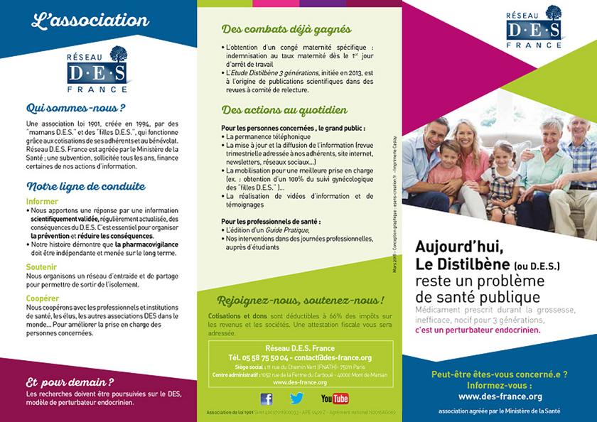 Dépliant Réseau DES France 2018 (page1)