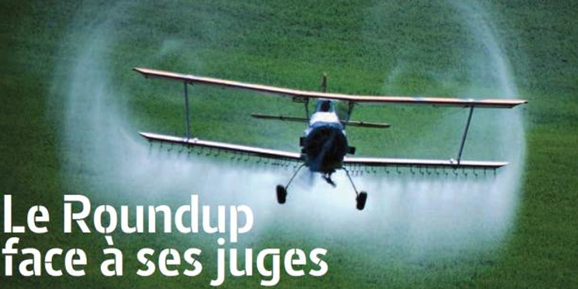 Le Roundup face à ses juges, livre de Marie-MoniqueRobin