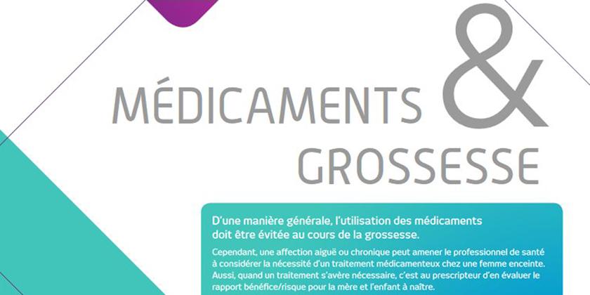 Médicaments et grossesse : les bons réflexes, rappel ANSM2018