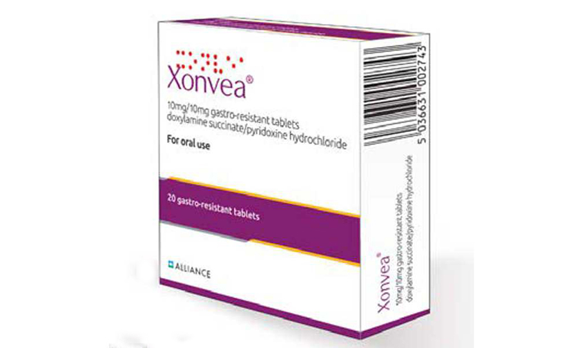 MHRA has approved the brand name Xonvea® to be used for marketing Diclectin® in theUK