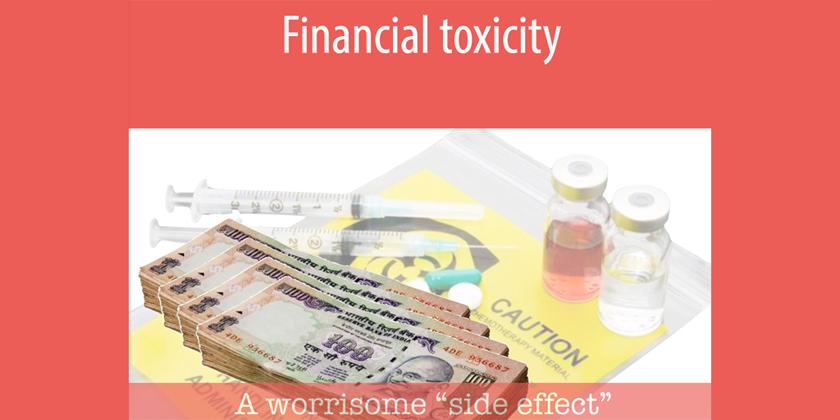 Quand le prix élevé et insupportable des médicaments devient un effet secondaire ducancer