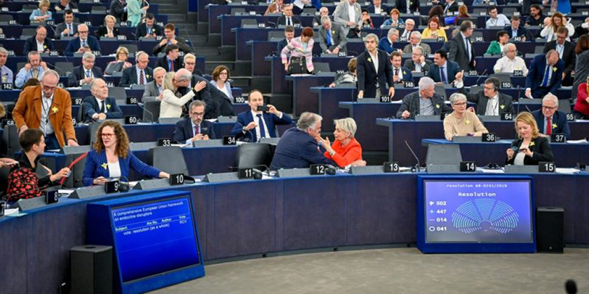 EU Parliament calling for the EU Commission to stop dithering and start acting on endocrine disruption