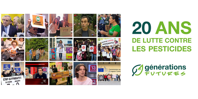 """""""Générations Futures"""" : c'est 20 ans de lutte contre les pesticides!"""