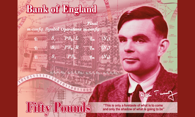 A DES-victim and hero celebrated on £50 note